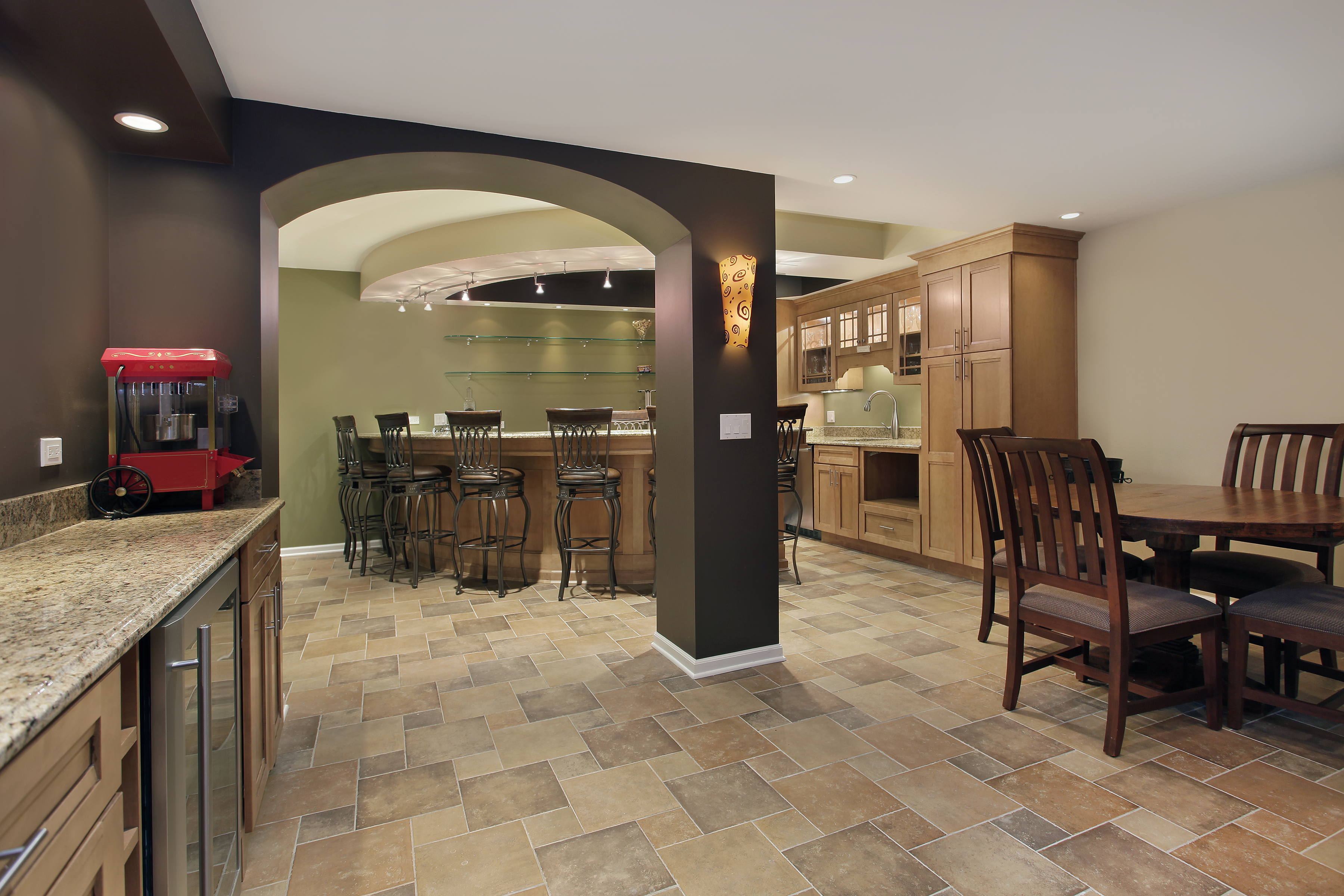 Stone Tile Flooring in Little Rock, AR
